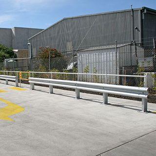 W-Beam Guardrail