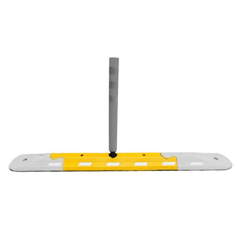Traffic Lane Separator Body - Recycled Rubber - Yellow