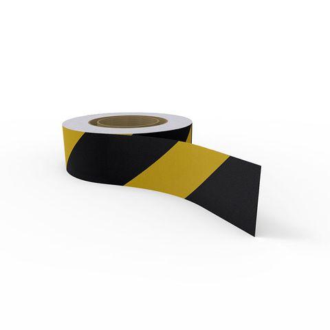 Anti-Slip Tape - 50mm x 5m - Black/Yellow