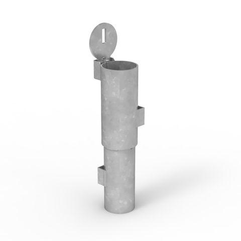 Sleeve-lok Removable Bollard 90mm New Concrete Sleeve