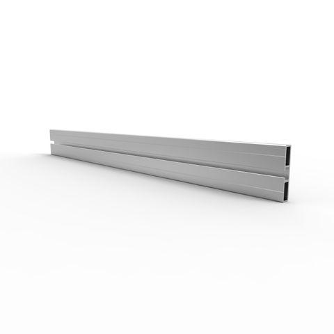 Toe Board 100mm 6 metres - Aluminium