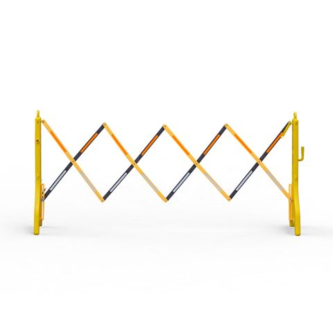 Port-a-Guard Lightweight Expandable Barrier 2.4m - Black/Yellow