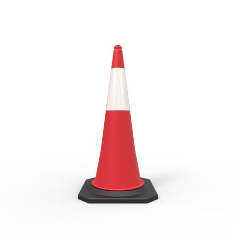 Traffic Cone - 1000mm Reflective