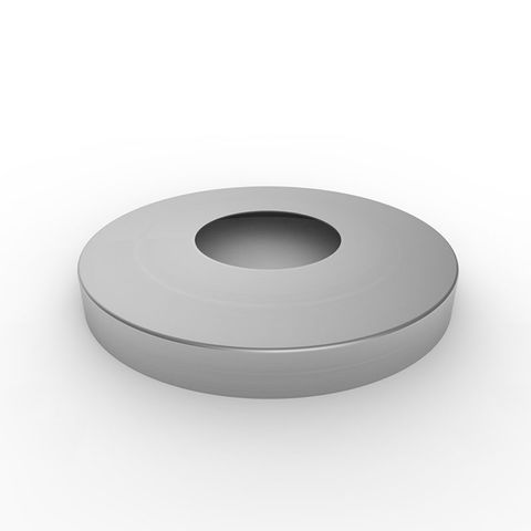 Base Cover to suit 90mm Bollard - 316 Stainless Steel