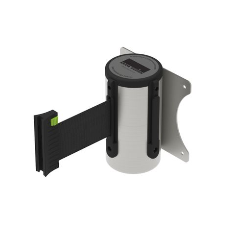 Wall Mount Barrier 3m - 304 Stainless Steel - Black