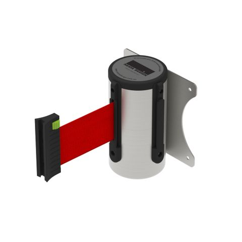 Wall Mount Barrier 3m - 304 Stainless Steel - Red