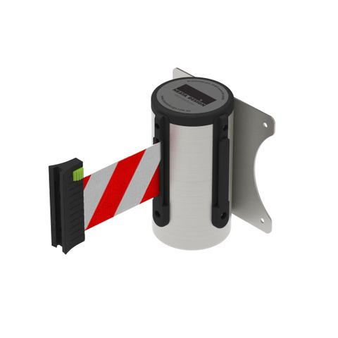 Wall Mount Barrier 3m - 304 Stainless Steel - Red/White