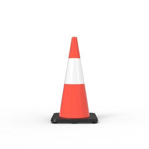 Traffic Cone - 700mm Reflective
