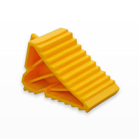 Wheel Chock Moulded Plastic - Small