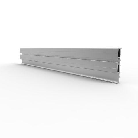 Toe Board 150mm Heavy 6 metres - Aluminium