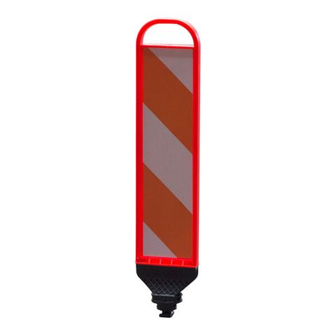Traffic Lane Separator Flat Hazard Panel