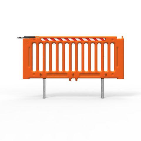 Load-Safe-Q Panel 2130mm Long - Polyethylene Hi-Vis Orange