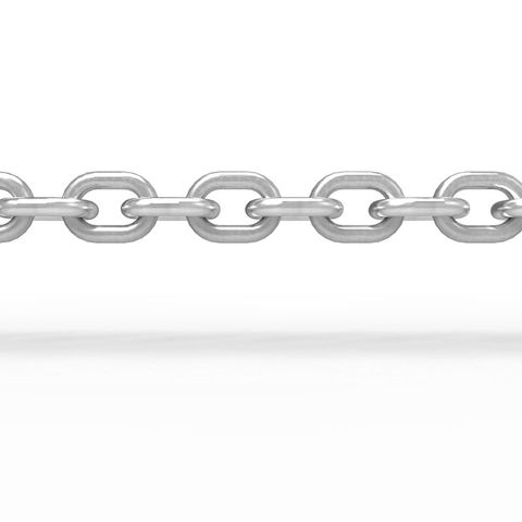 Chain 6mm 316 Stainless Steel - Per Metre