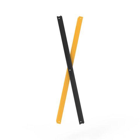 Port-a-Guard Pair of Slats Black/Yellow