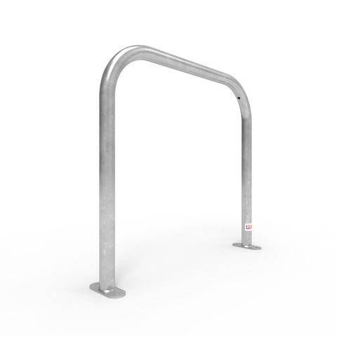 Bike Rail Rounded 850 x 800mm Surface Mounted - Galvanised