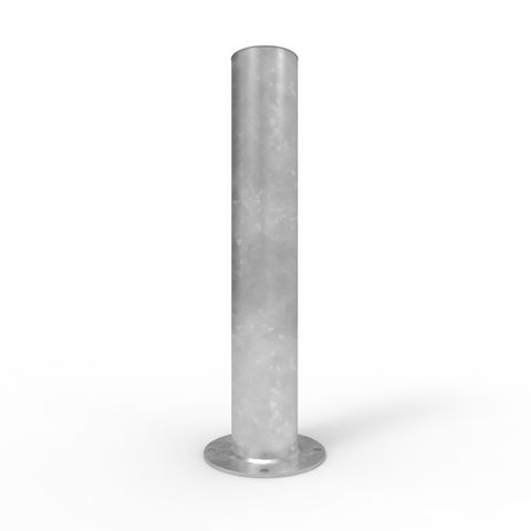 Bollard 220mm Surface Mounted - Galvanised