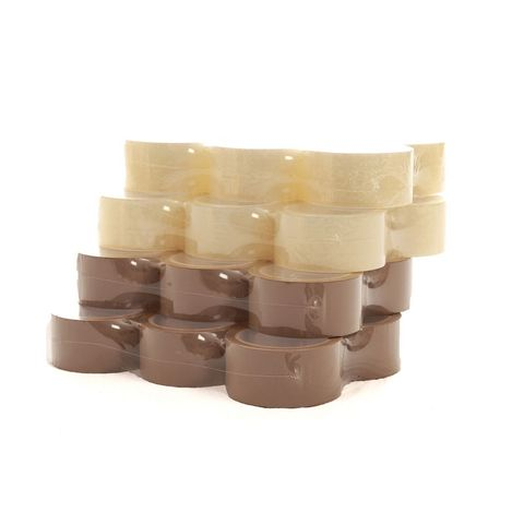 Packing Tape - Brown pack of 6