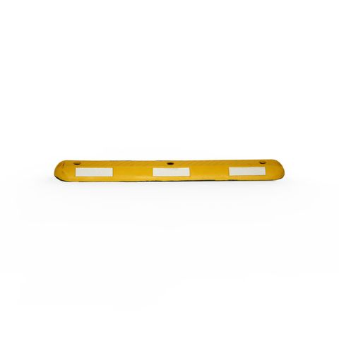 Parking Separator 1m - Recycled Rubber - Yellow