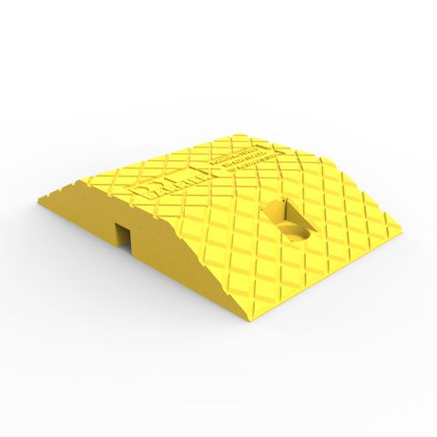 Compliance Speed Hump Body 250mm - LLDPE - Yellow