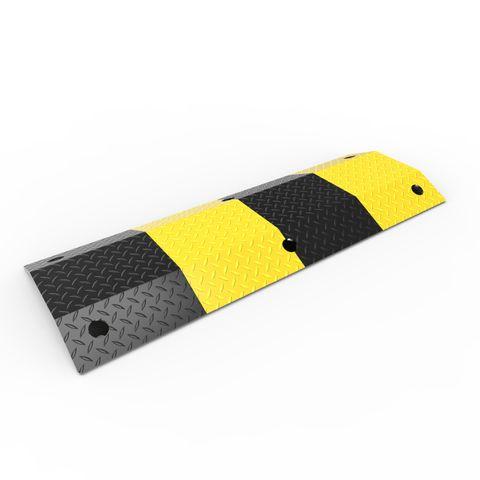 Slo-Motion Heavy Duty Speed Hump 1m - Black/Yellow