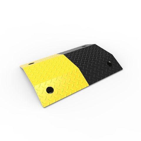 Slo-Motion Heavy Duty Speed Hump 500mm - Black/Yellow