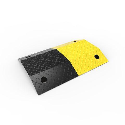 Slo-Motion Standard Duty Speed Hump 500mm - Black/Yellow