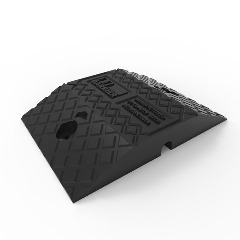 Economy Rubber Speed Hump Body 250mm - Black