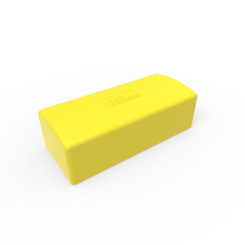 Cap to suit W Beam Post - LLDPE Yellow