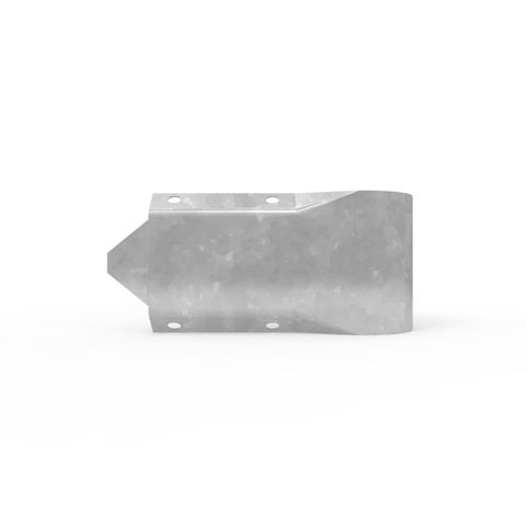 W-Beam Stubby Nose End Terminal - Galvanised