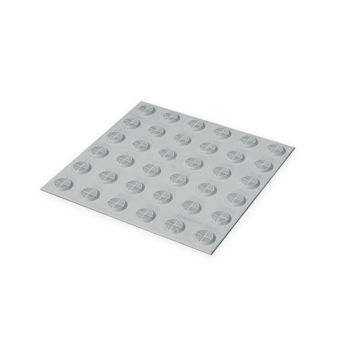 Warning Tactile Pad 300 x 300mm - Grey TPU