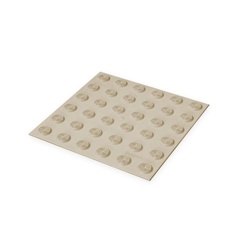 Warning Tactile Pad 300 x 300mm - Cream TPU