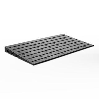 Access Ramp 110mm - Black Rubber