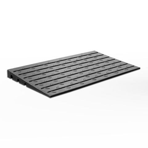 Access Ramp 110mm - Black Rubber