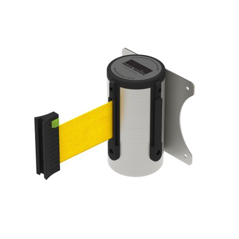 Wall Mount Barrier 3m - 304 Stainless Steel - Yellow