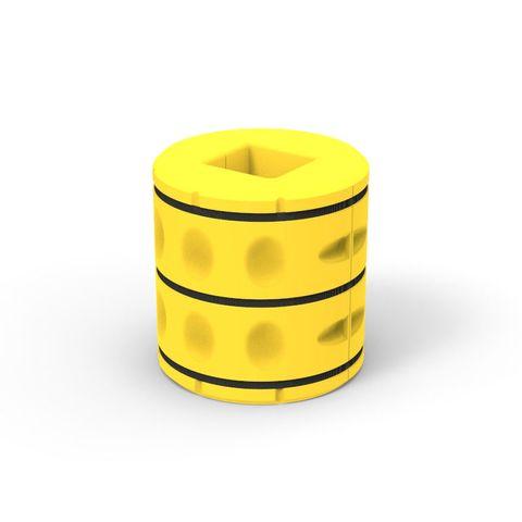 Column Cushion Kit 870mm Outer x 400mm Inner x 900mm High
