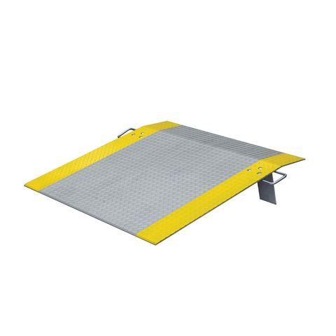 Dock Plate 1220 x 1220mm - Aluminium