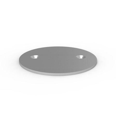 Magna Post Floor Disc - Galvanised