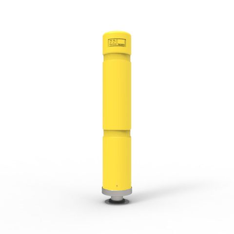 Magna Post - 700mm High - Yellow