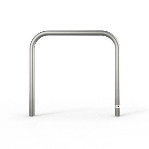 Bike Rail - Style 2 Below Ground 316 Stainless Steel