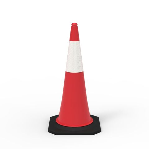 Traffic Cone - 1000mm Reflective - Value Pack of 10