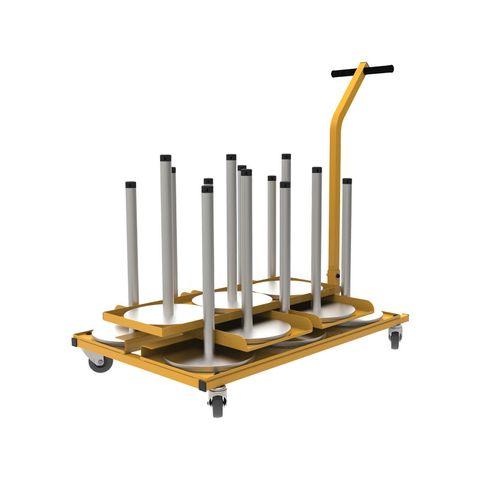 Neata Storage Trolley for 13 Portable Neata Gallery Posts