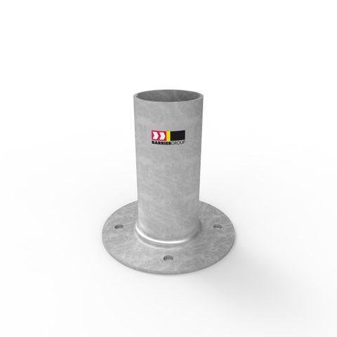Cam-lok Removable Bollard 90mm Holder - Surface Mounted