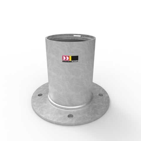 Cam-lok Removable Bollard 140mm Holder - Surface Mounted