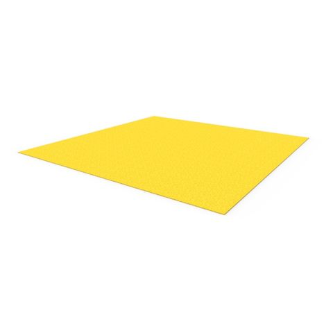 Anti-Slip Floor Plate 1200 x 1200mm - FRP Yellow