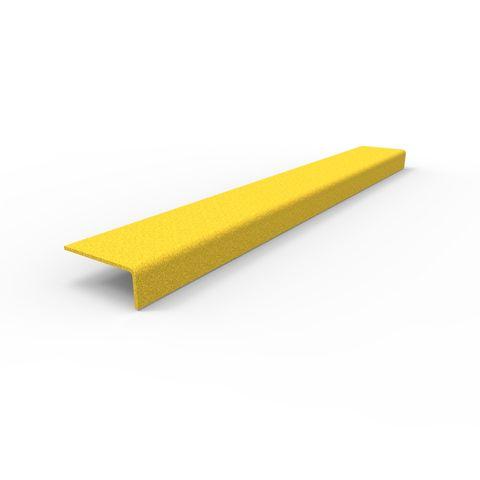 Anti-Slip Stair Nosing 600 x 76 x 30mm - FRP Yellow