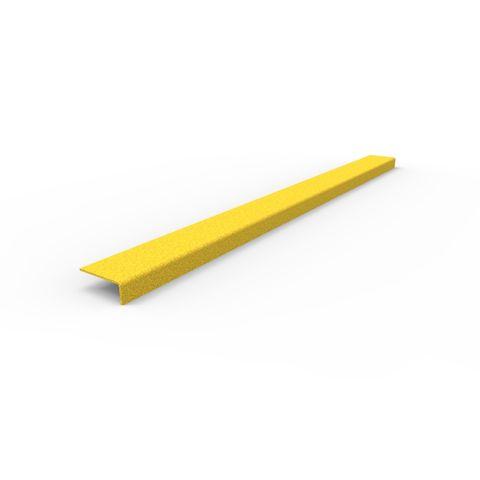 Anti-Slip Stair Nosing 1030 x 76 x 30mm - FRP Yellow