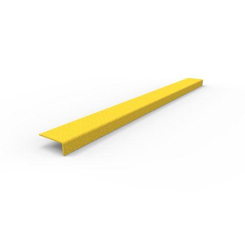 Anti-Slip Stair Nosing 900 x 76 x 30mm - FRP Yellow