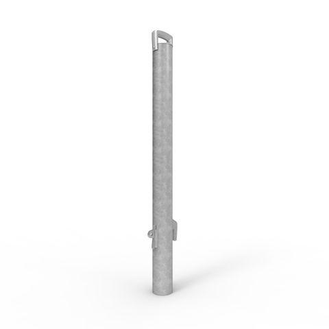Sleeve-lok Removable Bollard 90mm Rollerdoor - Galvanised