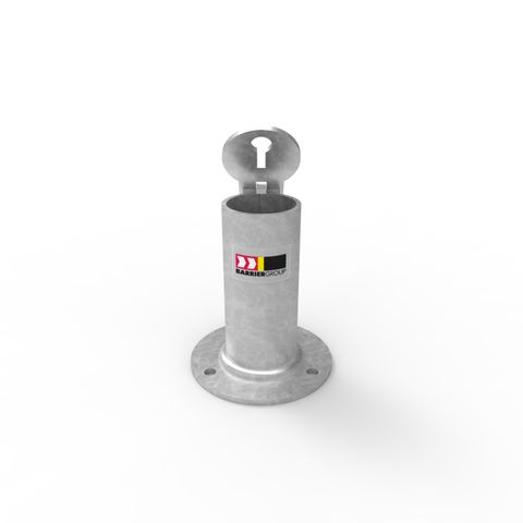 Sleeve-lok Removable Bollard 63mm Holder - Surface Mounted