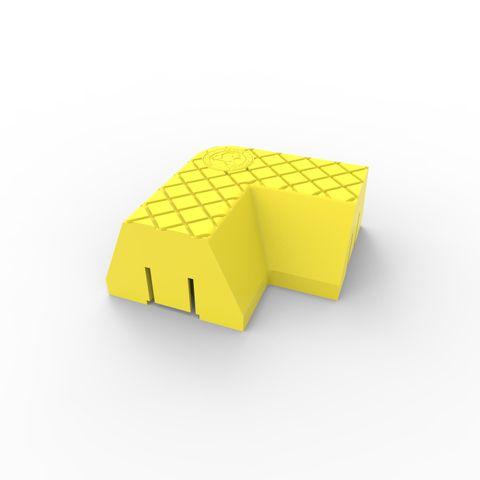 Menni Corner Module 90 Degree - Yellow LLDPE
